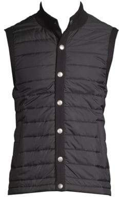 Barbour Quilted Button-Front Vest