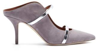 Malone Souliers By Roy Luwolt - Maureen Suede Mules - Womens - Grey Multi