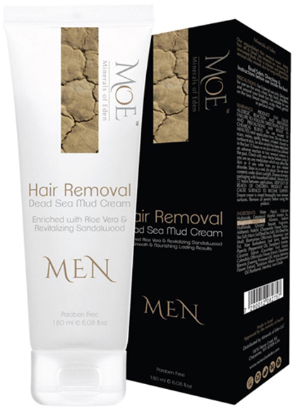 Dead Sea Mineral Hair Removal Cream for Men
