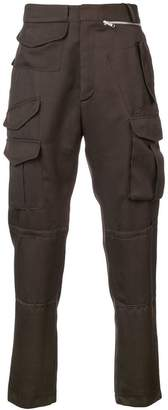 Cmmn Swdn flap pocket trousers