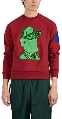 Moncler 2 1952 Men's Graphic Cotton Fleece Sweatshirt