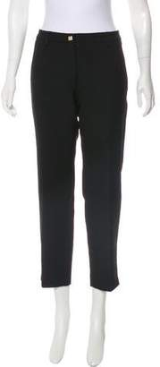 Versace Mid-Rise Cropped Pants
