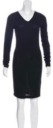 Alexander Wang V-Neck Knee-Length Dress