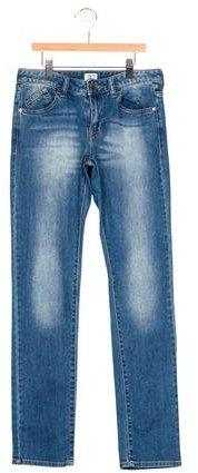 Armani JuniorArmani Junior Boys' Five Pocket Straight-Leg Jeans