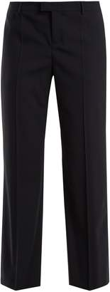 RED Valentino Straight-leg stretch-wool trousers