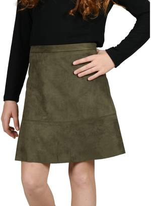 Mini Molly Girl's Seamed A-Line Skirt