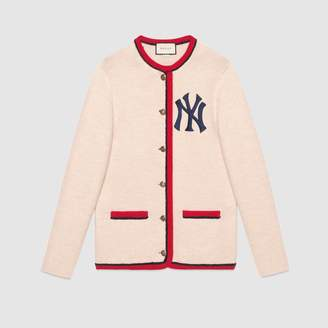 Gucci Cardigan with NY Yankees patch