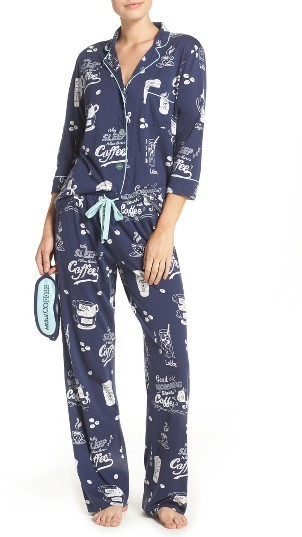 Women's Pj Salvage Playful Print Pajamas & Eye Mask