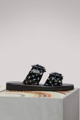 Ancient Greek Sandals Iaso flat sandals
