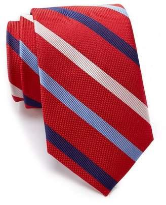 Tommy Hilfiger Silk Tricolor Stripe Tie