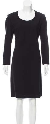 Calvin Klein Collection Wool Knee-Length Dress
