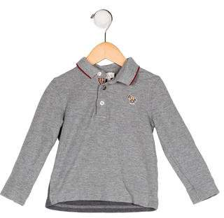 Paul Smith Boys' Collared Long Sleeve Shirt