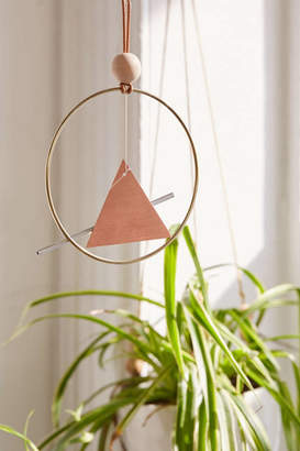 Urban Outfitters Ladies & Gentlemen Studio X Copper Triangle Wind Chime