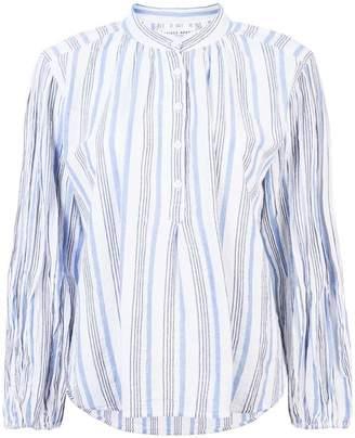 Apiece Apart striped long-sleeve shirt