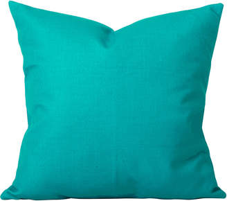 Cushion Bazaar Turquoise Solid Georgia Cushion
