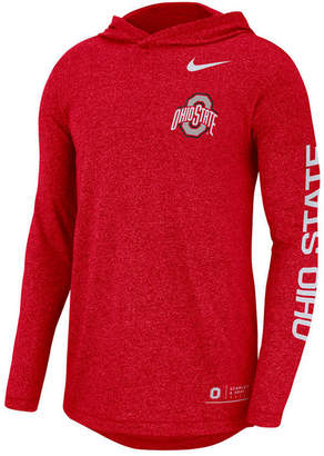 Nike Men's Ohio State Buckeyes Long Sleeve Hooded T-Shirt