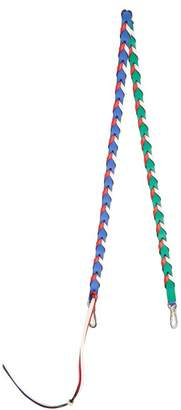 Loewe Braided Leather Bag Strap - Womens - Multi
