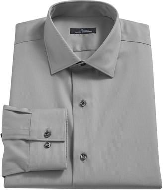 Marc Anthony Men's Textured Slim-Fit No-Iron Dress Shirt