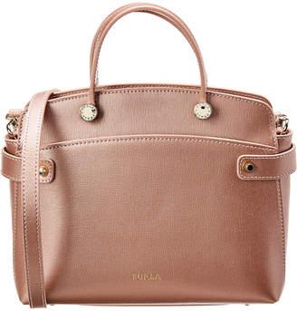 Furla Agata Small Leather Satchel