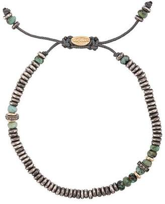 M. Cohen adjustable beaded bracelet