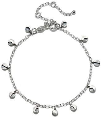 Satya Jewelry Sterling Moon Phase Charm Bracelet