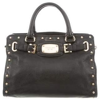 67a122946fb6 MICHAEL Michael Kors Studded Leather Handle Bag