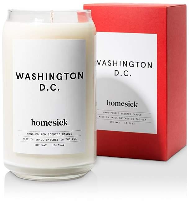 Homesick Washington DC Candle
