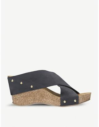 Carvela Comfort Sooty suede wedge sandal