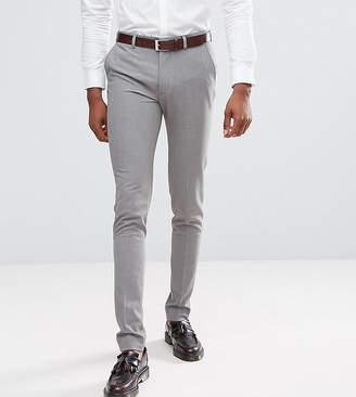 Asos Design DESIGN Tall super skinny smart pants in gray