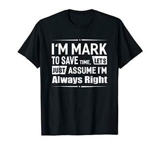 I'm Mark To Save Time