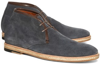 Brooks Brothers Suede Hemp Sole Chukkas