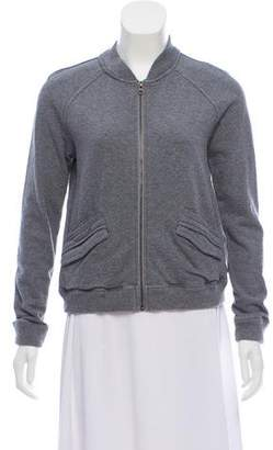 Billy Reid Zip-Up Long Sleeve Sweatshirt