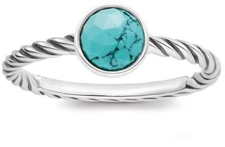 f82626cc0 Thomas Sabo Women-Ring Glam & Soul 925 Sterling silver blackened simulated  Turquoise Sz.