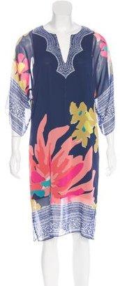 Trina Turk Chiffon Floral Print Dress $75 thestylecure.com
