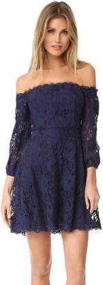 BB Dakota R.S.V.P by BB Dakota Jasmin Off Shoulder Dress $145 thestylecure.com