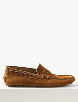 Marks and Spencer Suede Slip-on Drivers