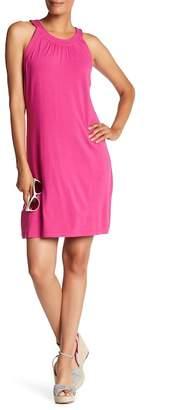 Tommy Bahama Tambour Sleeveless Halter Dress