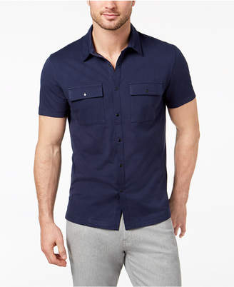 Alfani Men's Utility Shirt, Created for Macy's