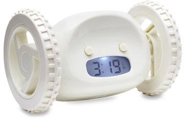 Clocky Mobile Alarm Clock - Almond