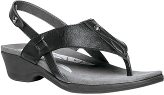 Propet Rejuve Leather Thong Sandals with Backstrap - Mariko