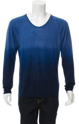Burberry Ombré Silk Sweater