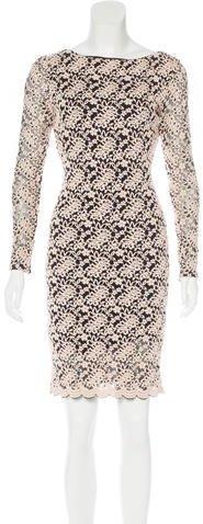 Alice + OliviaAlice + Olivia Brocade Sheath Dress