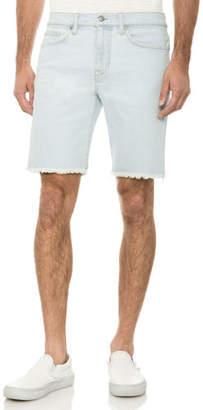 Joe's Jeans Men's Unfinished-Hem Bermuda Shorts