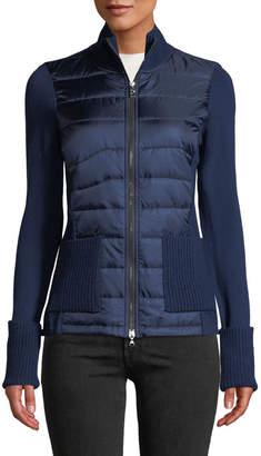 Bogner Roxa Hybrid Wool & Quilted Jacket