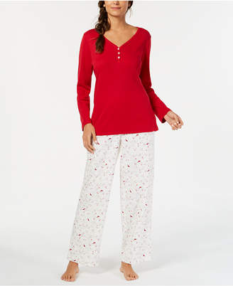 Charter Club Mix It Up Pajama Set