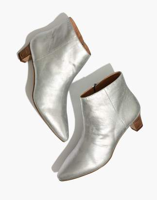 Madewell The Portia Boot in Metallic