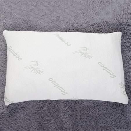 TRYIF New Hotel Comfort Hypoallergenic Bamboo Shredded Memory Foam Pillow Queen