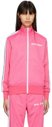 Palm Angels Pink Logo Track Jacket