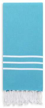 Linum Home Textiles Alara Turquoise Beach Towel