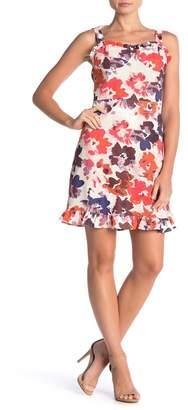 Luna Chix LUNACHIX Tie Strap Bustier Floral Dress